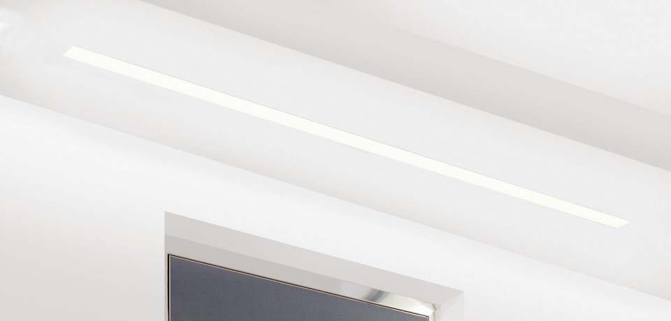 Horizon 50RT Recessed Trimless Linear LED Light