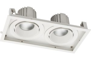 Gimbal 2 recessed LED adjustable downlight