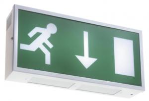 EM-Box emergency exit sign